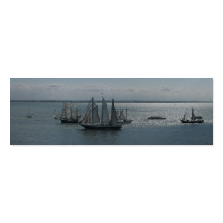 Sailing Boats and Ships on Sea Bookmarks Cards Pack Of Skinny Business Cards