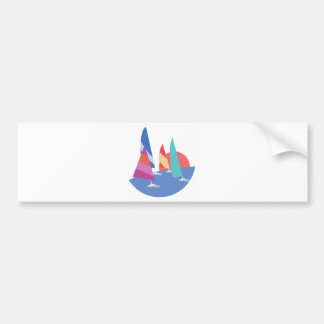 Sailing Boats Bumper Sticker
