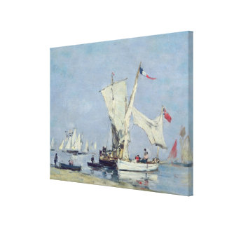 Sailing Boats, c.1869 Canvas Print