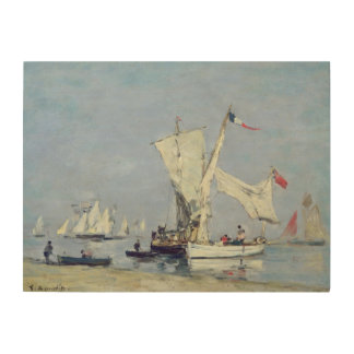 Sailing Boats, c.1869 Wood Wall Art