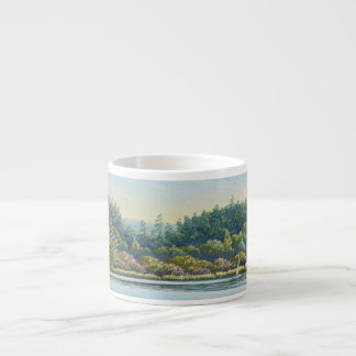 Sailing Boats, Frensham Ponds Surrey Espresso Mug