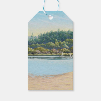 Sailing Boats, Frensham Ponds, Surrey in Pastel Gift Tags