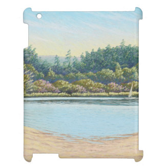 Sailing Boats, Frensham Ponds Surrey iPad Case