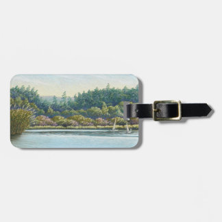 Sailing Boats, Frensham Ponds Surrey Luggage Tag