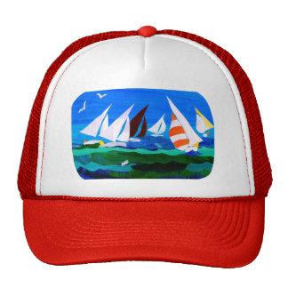 'Sailing Boats' hat