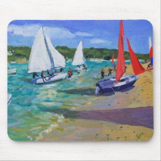 Sailing Boats Mouse Mat