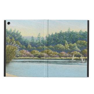 Sailing Boats on Frensham Ponds, Surrey in Pastel iPad Air Case