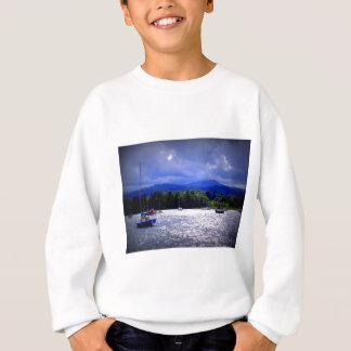 Sailing Boats under a stormy Sky Sweatshirt