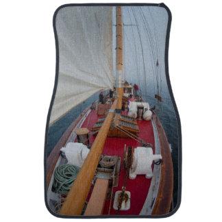 Sailing Boundary Pass Car Mat