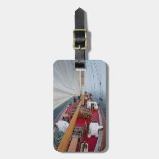 Sailing Boundary Pass Luggage Tag