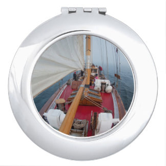 Sailing Boundary Pass Makeup Mirrors