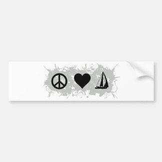 Sailing Bumper Sticker