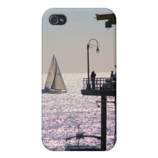 Sailing by Santa Monica Cases For iPhone 4