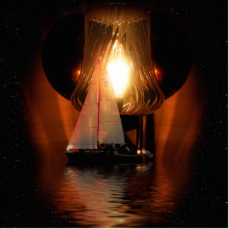 Sailing By The Lantern Light Acrylic Cut Out