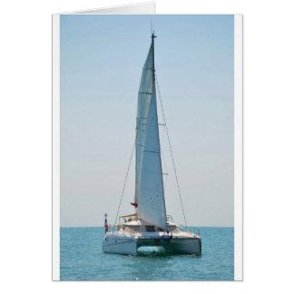 Sailing Catamaran Clara Card