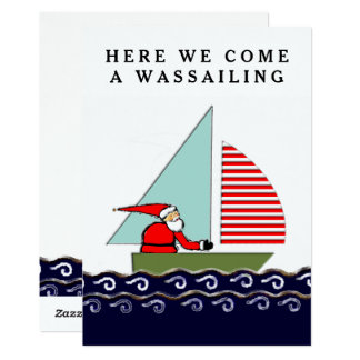 Sailing Christmas cards