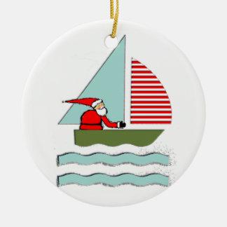 Sailing Christmas Christmas Ornament