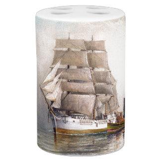 Sailing Clipper Ship Ocean Fog Bath Set