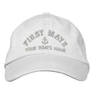 Sailing crew fist mate baseball cap