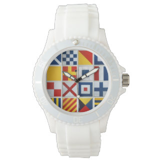 Sailing Flags Wrist Watch