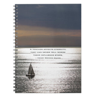 Sailing, for teachers - Spiral Notebook
