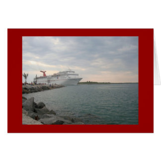 Sailing from Port Canaveral Card