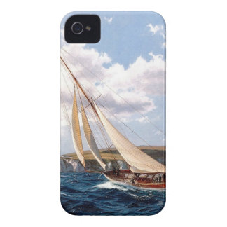 Sailing in a rough sea iPhone 4 cases