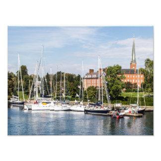 Sailing in Annapolis, Maryland Art Photo