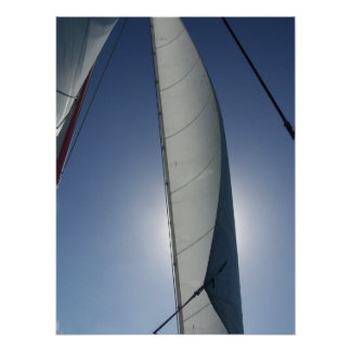 Sailing in Bahamas Poster