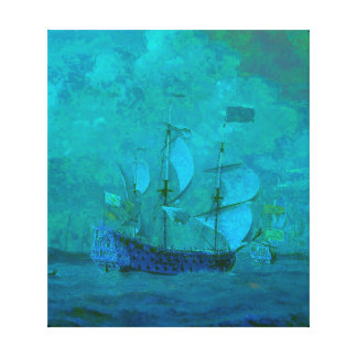 Sailing in Calm Waters Canvas Print