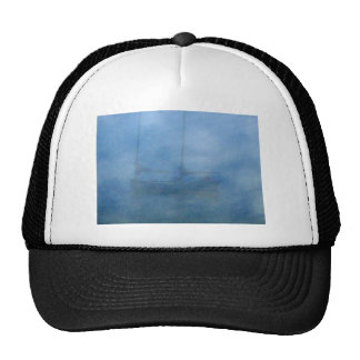 Sailing in Fog Mesh Hat