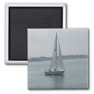 Sailing in New England Magnet Magnet