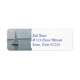 Sailing in New England Mailing Labels