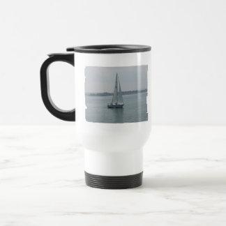 Sailing in New England Plastic Travel Mug