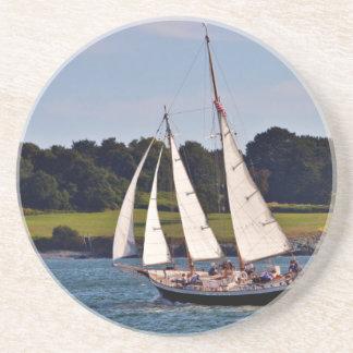 Sailing In Newport, Rhode Island, USA Coaster