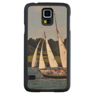 Sailing In Newport, Rhode Island, USA Maple Galaxy S5 Slim Case
