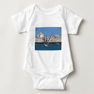 Sailing in the bay at Siracusa. Baby Bodysuit