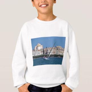Sailing in the bay at Siracusa. Sweatshirt