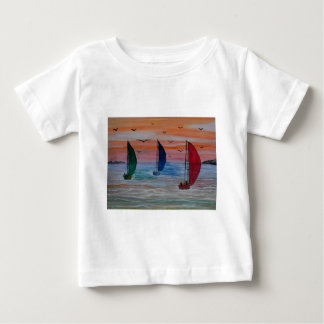sailing in the bay baby T-Shirt