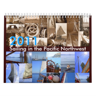 Sailing in the Pacific Northwest Calendars