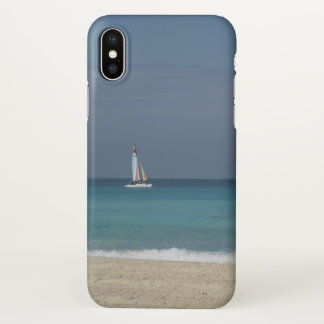 Sailing in Varadero, Cuba - iPhone X Case