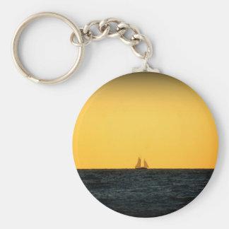 Sailing in Venice 2 Key Ring