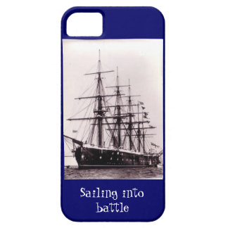 Sailing into battle, HMS Agincourt 1865 iPhone 5 Cover