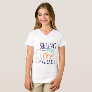 Sailing into First Grade T-Shirt
