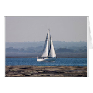Sailing Into Harbour Card