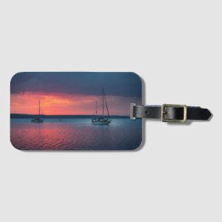 Sailing Into The Sunset | Cienfuego, Cuba Luggage Tag