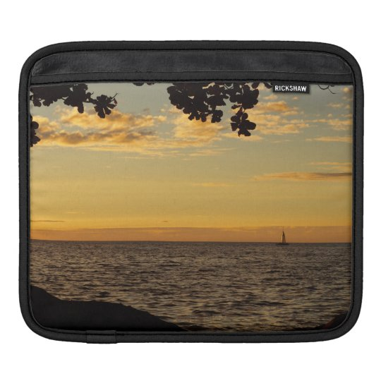 Sailing into the Sunset iPad Sleeve