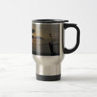 Sailing into the Sunset Coffee Mugs