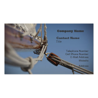 Sailing Jib Pack Of Standard Business Cards