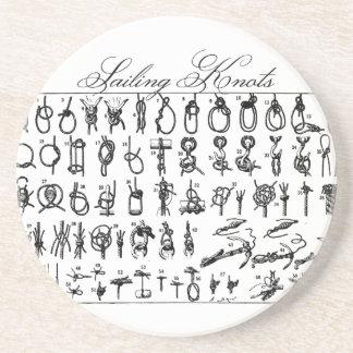 Sailing Knots Coaster